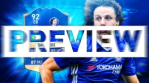 FIFA 17 TOTS DAVID LUIZ THUMBNAIL TEMPLATE