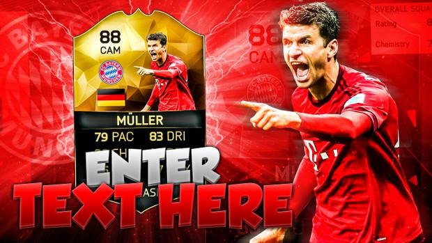 FIFA 16 Muller Thumbnail Template TOTW 24