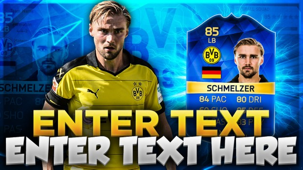 FIFA 16 TOTS SCHMELZER THUMBNAIL TEMPLATE