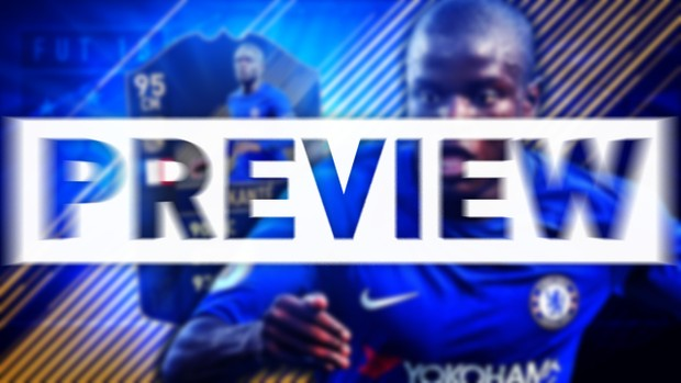 FIFA 18 TEAM OF THE YEAR KANTE THUMBNAIL TEMPLATE