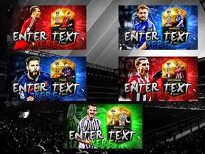 FIFA 16 TOTW 25 Thumbnail Template Pack