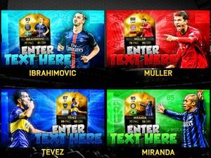 FIFA 16 TOTW 24 Thumbnail Template Pack