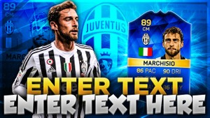 FIFA 16 TOTS MARCHISIO THUMBNAIL TEMPLATE