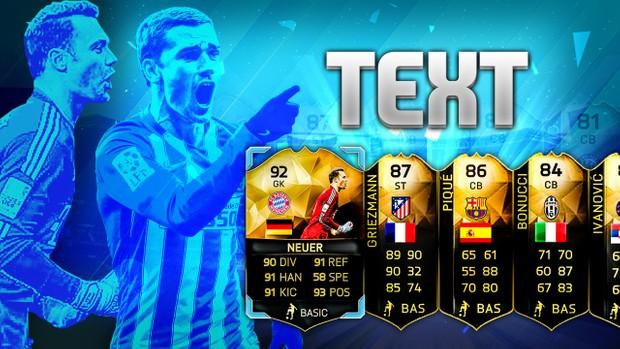 FIFA 16 TOTW 25 Pack Opening Thumbnail Templates (PSD)