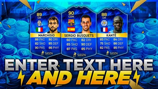 FIFA 16 TOTS MOST CONSISTENT TRADING METHOD THUMBNAIL TEMPLATE