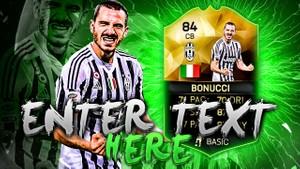 FIFA 16 Bonucci Thumbnail Template TOTW 25