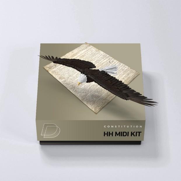 DrumVault - Constitution (HH Midi Kit)