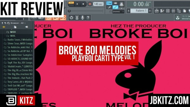 Broke Boi Melodies (JBKITZ) MIDI