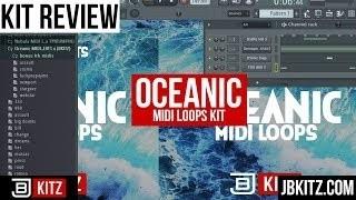Oceanic MIDI Loops (WXVYBEATS x JBKITZ)