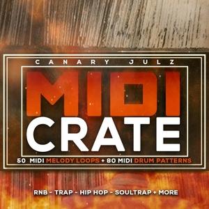 Canary Julz - MIDI Crate (Keys & Drum MIDI Pack)
