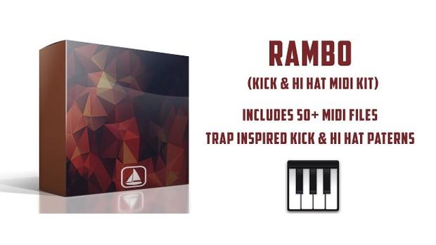 Killah Dame - Rambo (Kick + Hats Midi Kit )