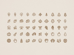 Autumn Icons