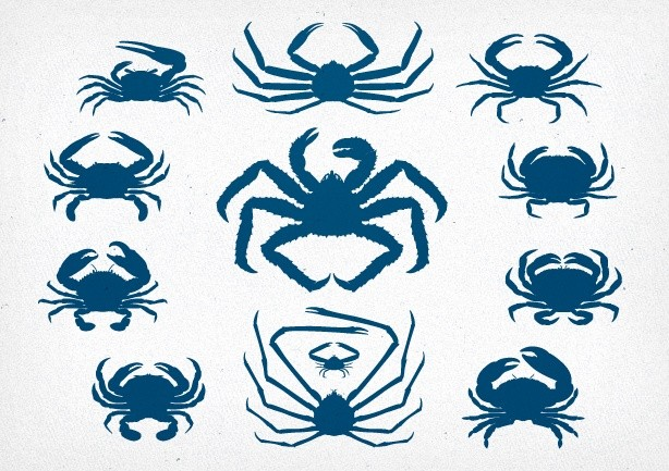 Crab Vector Pack