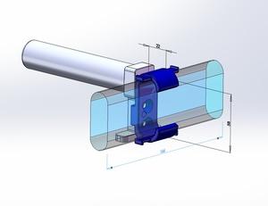 STL-FILE - External Battery Fixture for Anker PowerCore 20100mAh (AK-A1271011)