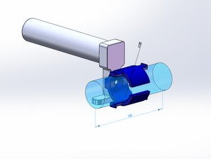 STL-FILE - External Battery Fixture for Anker PowerCore 5000mAh (AK-A1109011)