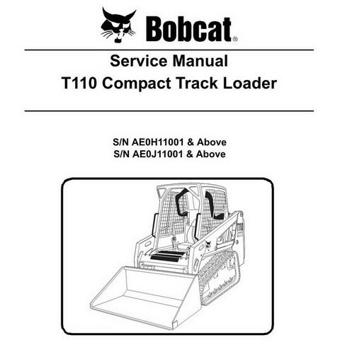 Bobcat T110 Compact Track Loader Service Manual - 6904979
