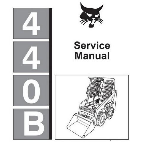 Bobcat 440B & Farmboy Skid-Steer Loader Service Manual - 6570160
