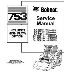 Bobcat 753, 753H Skid-Steer Loader Service Manual - 69
