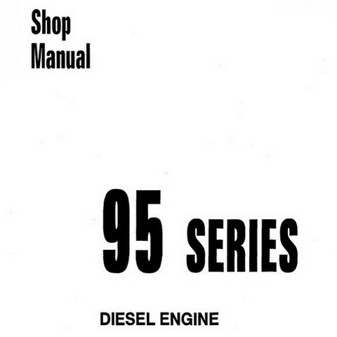 Komatsu 95 Series Diesel Engine Shop Manual - SEBE61460114