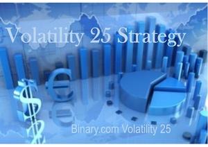 Volatility 25 spot price strategy