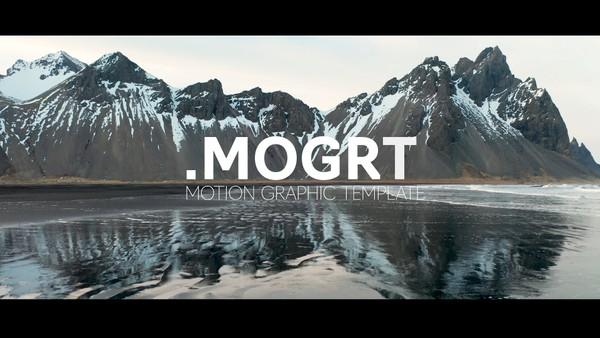 Cinematic title - 3 styles- MOGRT