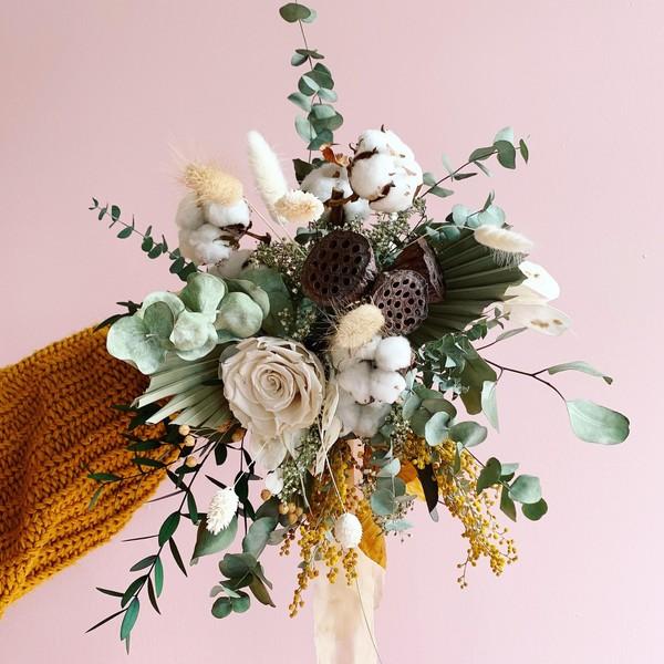 Bouquet Séché/préservé | MOYEN