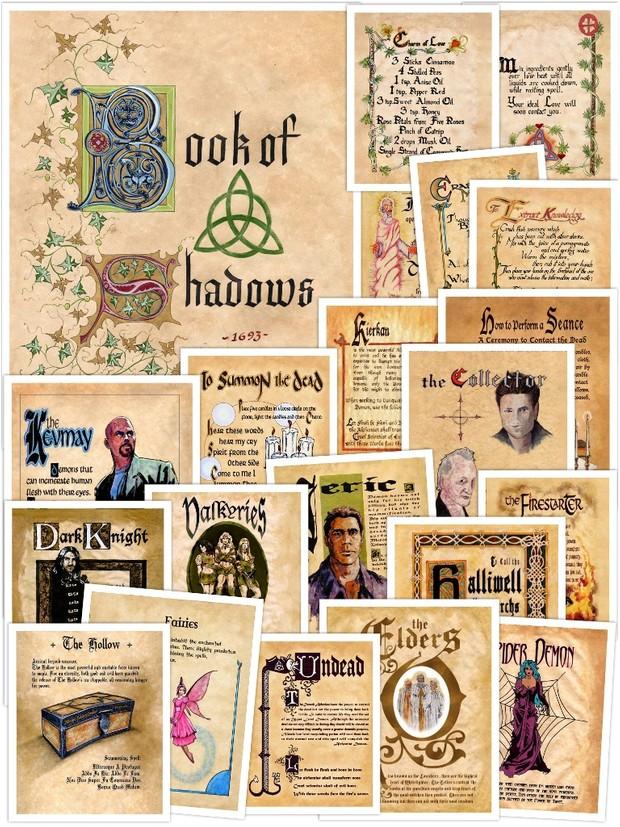 Book of Shadows Replica Pages E-book