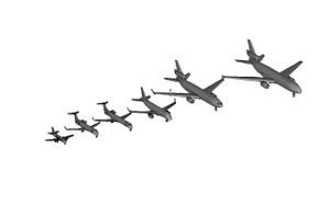 Print Ready STL Airplanes at 1