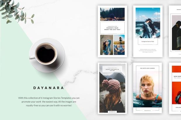 Dayanara Instagram Stories Collection