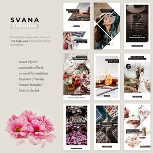 Svana Instagram Stories Collection PSD