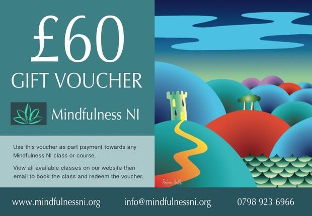 Mindfulness NI £60.00 Gift Voucher
