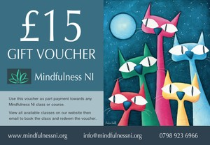 Mindfulness NI £15.00 Gift Voucher