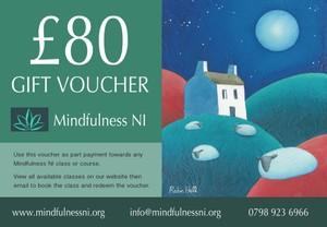 Mindfulness NI £80.00 Gift Voucher