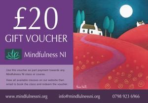 Mindfulness NI £20.00 Gift Voucher
