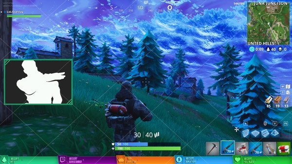 [€] FORTNITE - STREAM OVERLAY #6