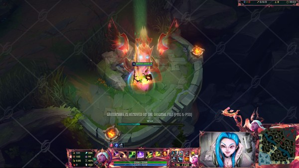 ✅ NIGHTBRINGER SORAKA - IN GAME OVERLAY