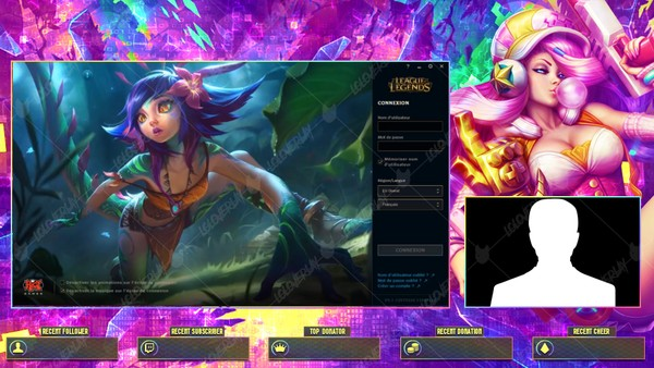 ✅🎞️ [ANIMATED] ARCADE MISS FORTUNE - LOBBY OVERLAY