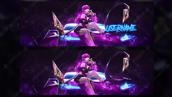 ✅ KDA EVELYNN - TWITTER HEADER
