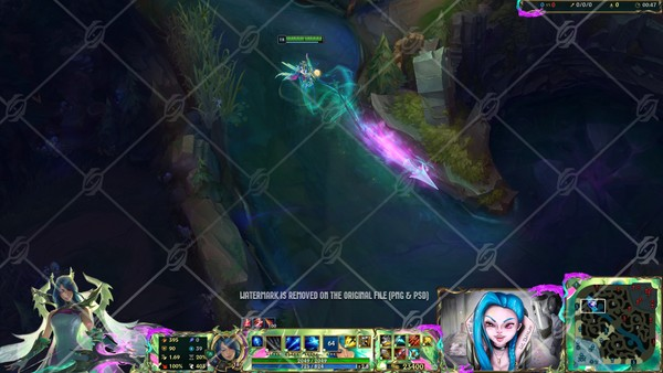 🐉 FAE DRAGON ASHE - IN GAME OVERLAY