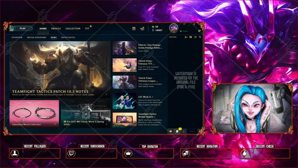 ✅ BLOOD MOON TRYNDAMERE - LOBBY OVERLAY