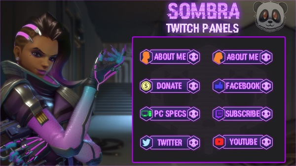 ✅ Sombra - Twitch Panels