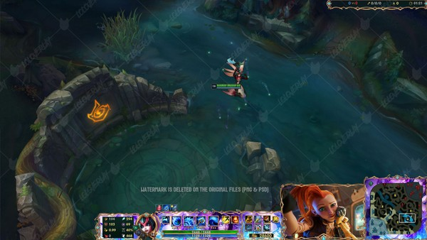 ✅ SPLENDID STAFF NAMI - IN GAME OVERLAY