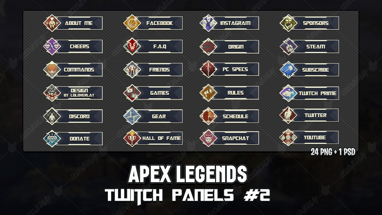 ✅ APEX LEGENDS - TWITCH PANELS #2