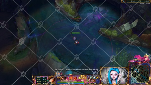 🈵LUNAR BEAST MISS FORTUNE - IN GAME OVERLAY