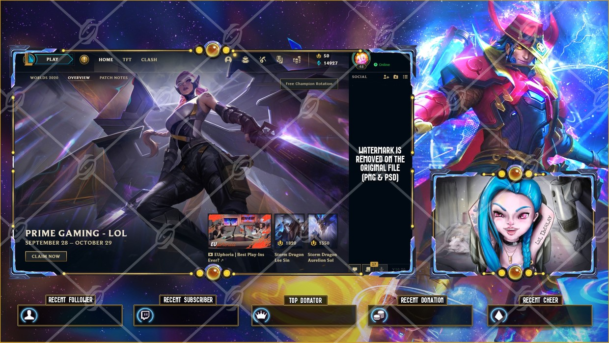✅ODYSSEY TWISTED FATE - LOBBY OVERLAY