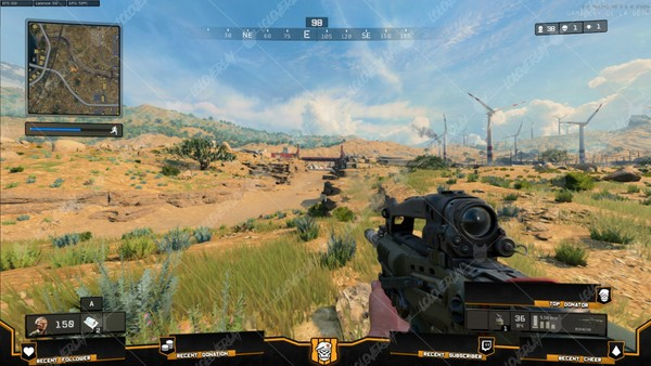 ✅ CALL OF DUTY : BLACK OPS 4 - STREAM OVERLAY #2