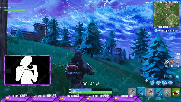 ✅[PURPLE]  VICTORY ROYALE 2018 - STREAM OVERLAY