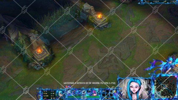 ✂️GWEN - IN GAME OVERLAY