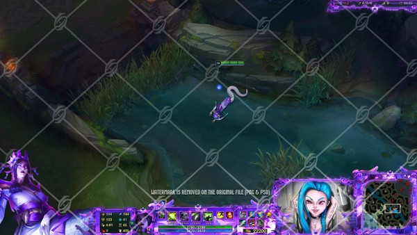 🌸🎞️SPIRIT BLOSSOM CASSIOPEIA - ANIMATED IN GAME OVERLAY
