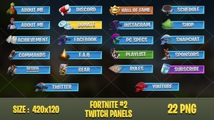 FORTNITE - TWITCH PANELS #2